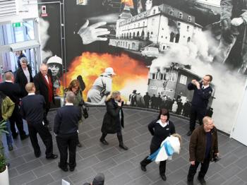 Presentationsbild för referensen Brandstation, Vikingavallen